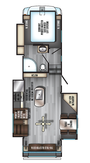 EuroCruiser 915 FloorPlan