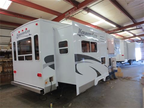 kountrylite allen camper eurocruiser 5th wheel