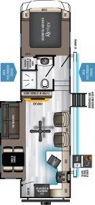 2021 Eurocruiser 935 Floorplan