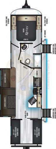 2021 eurocruiser 110 travel trailer Quad Bunks
