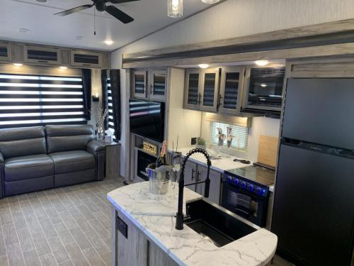 965 kitchen and living space