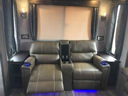 Cinema Seats - Reclining, heated w/ massage function