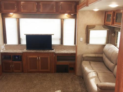 Living Area w/ TV Lift